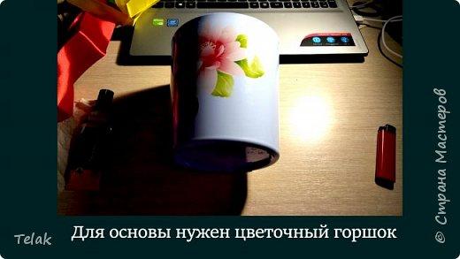 Барабан из цветочного горшка своими руками фото 2