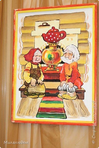 """Всем здравствуйте! Хочу показать Кузбасскую ярмарку Осень 2017. И только мы зашли в павильон, как оказались в горнице. Это выставка """"Самовар-батюшка"""" Осень-16 можно посмотреть тут http://stranamasterov.ru/node/1055610 фото 13"""
