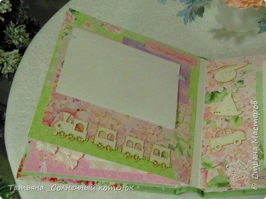 Яркий текстильный фотоальбом  фото 7