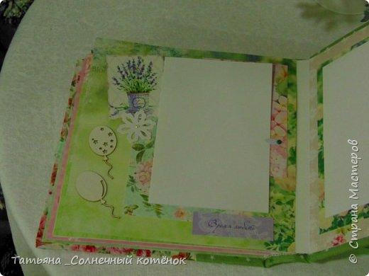 Яркий текстильный фотоальбом  фото 9