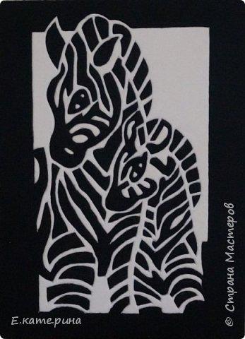"""Условно назвала эту серию работ """"черно-белой"""". Каждая работа формата А3. фото 2"""