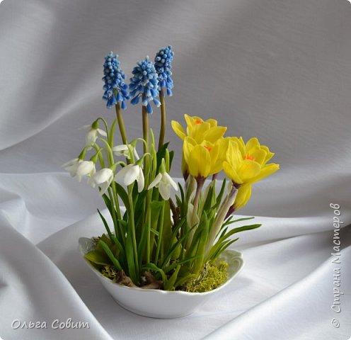 Цветы. Холодный фарфор фото 1