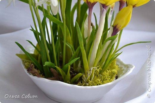 Цветы. Холодный фарфор фото 3