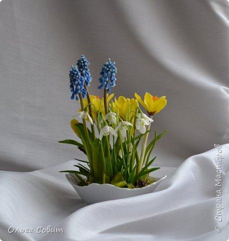 Цветы. Холодный фарфор фото 2