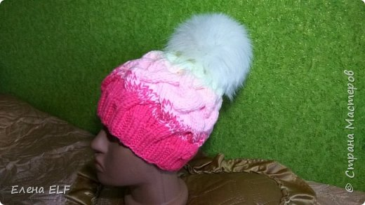 И снова мой ребенок меня вдохновил на еще одну шапочку фото 3