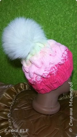И снова мой ребенок меня вдохновил на еще одну шапочку фото 2