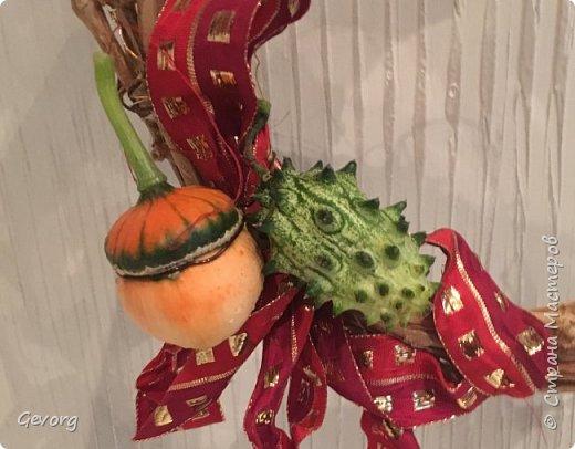 Осенний венок МК фото 3