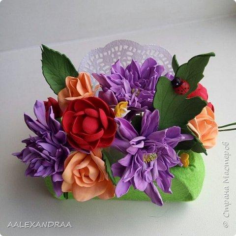 Всем привет! Вот мои цветочки в коробочках, в подарок ,для воспитателей в сад от дочи. Планируют ещё маленькие открыточки поместить. фото 2