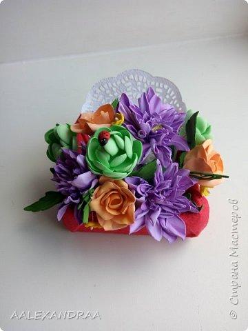 Всем привет! Вот мои цветочки в коробочках, в подарок ,для воспитателей в сад от дочи. Планируют ещё маленькие открыточки поместить. фото 4