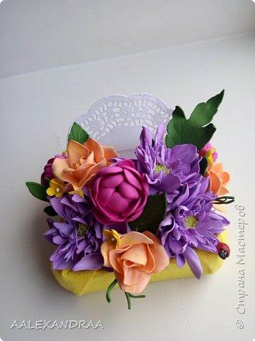 Всем привет! Вот мои цветочки в коробочках, в подарок ,для воспитателей в сад от дочи. Планируют ещё маленькие открыточки поместить. фото 3