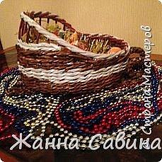 ГОТОВИМ САНИ ЛЕТОМ! Такие сани могут быть  подарочной упаковкой для поздравления родных и друзей, вазой для конфет или мандарин на праздничный стол. фото 7