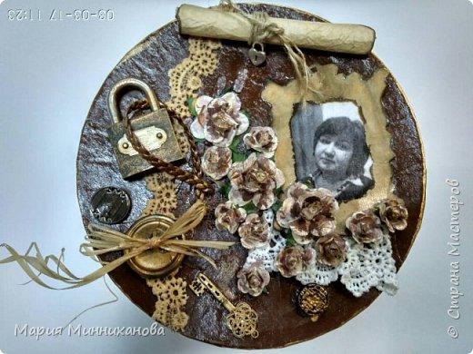 Вот такую шкатулку смастерила на подарок сестре.  фото 4