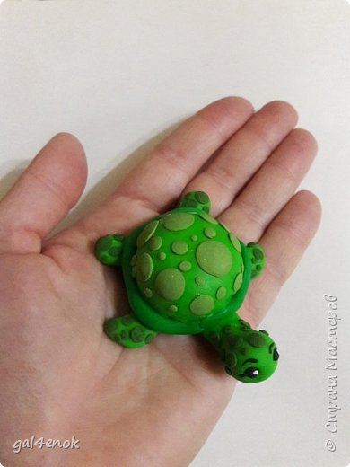 """Учительница сына, попросила сделать работу.. тема выставки в школе """" Малахитовая черепаха"""". Вот результат двух дней работы... фото 5"""