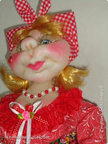 Кукла на чайник фото 5