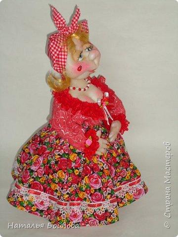 Кукла на чайник фото 4