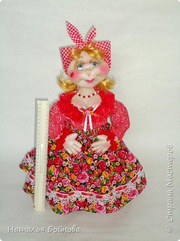 Кукла на чайник фото 8