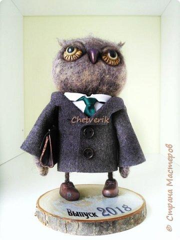 Вот такая сова в подарок для директора школы фото 1