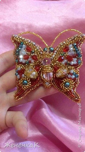 Бабочка. Брошь. фото 1