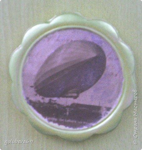 Рамочка гипсовая с распечаткой ретро фотографии. фото 3