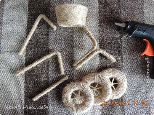Декоративный велосипед фото 6
