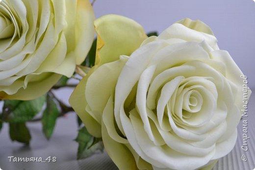 Здравствуйте жители Страны Мастеров! Что то я зачастила  к вам.... Вот результат моей двухнедельной ночной жизни... Розы  создавала по МК Майи Немец (тоже житель Страны) на заказ ... Приготовьтесь.... фотосессия удалась.... фото 3