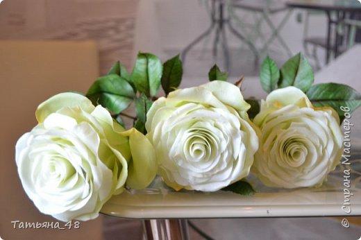 Здравствуйте жители Страны Мастеров! Что то я зачастила  к вам.... Вот результат моей двухнедельной ночной жизни... Розы  создавала по МК Майи Немец (тоже житель Страны) на заказ ... Приготовьтесь.... фотосессия удалась.... фото 11