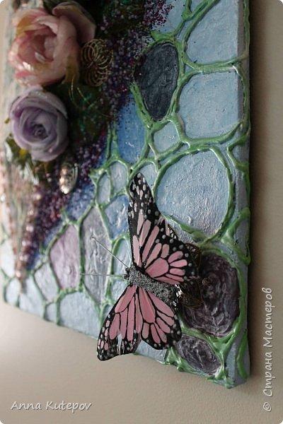 """Панно: """"Бабочки на сердце"""" фото 4"""