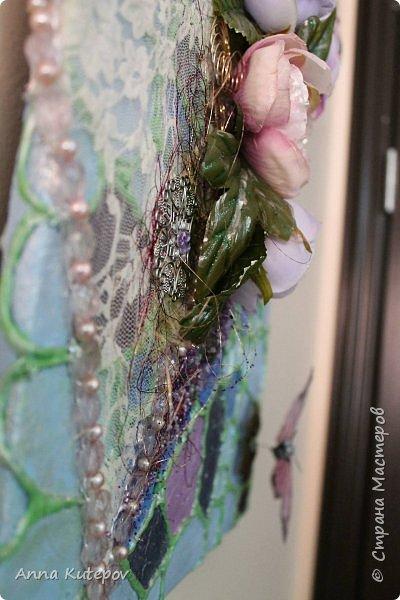 """Панно: """"Бабочки на сердце"""" фото 5"""