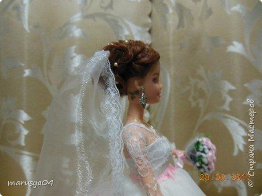 Вышла знакомая замуж, и как воспоминание о свадьбе попросила сделать куклу-шкатулку, чтобы невеста походила не оригинал  фото 3