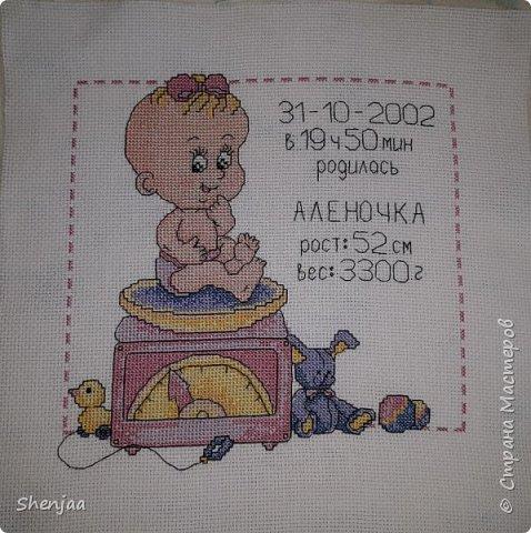 Метрика для малышки фото 1
