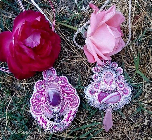"""Колье """"Сияние роз"""" фото 17"""
