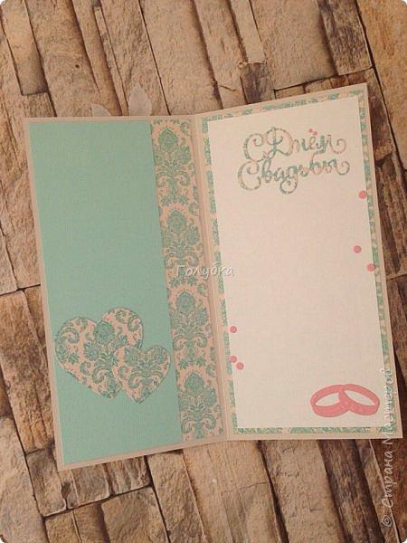 """Вот еще партия открыток, которые не показывала:)  Мне кажется, что у многих производителей есть бумага """"Дамаск базовая"""", но вот у MONA design, она мне нравится больше всего:)  Работаю с ней не первый раз. Она в меру яркая и в любом цвете нарядная.  Представляю красную и бирюзовую:) фото 9"""