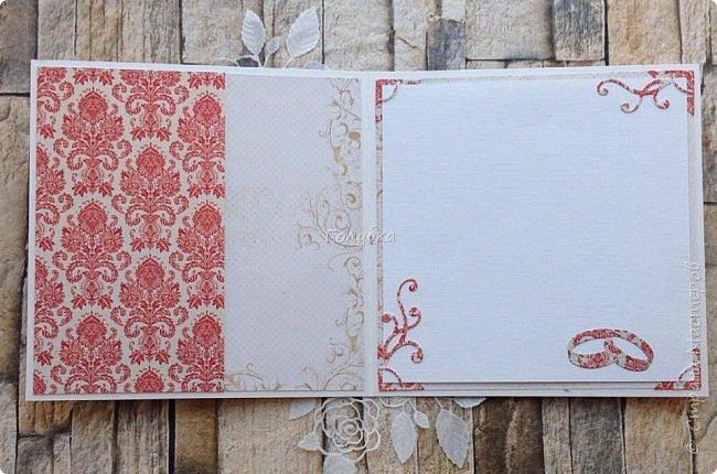"""Вот еще партия открыток, которые не показывала:)  Мне кажется, что у многих производителей есть бумага """"Дамаск базовая"""", но вот у MONA design, она мне нравится больше всего:)  Работаю с ней не первый раз. Она в меру яркая и в любом цвете нарядная.  Представляю красную и бирюзовую:) фото 4"""