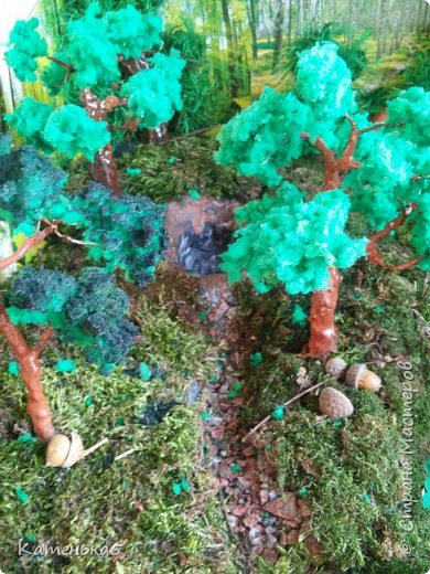 Макет леса и его жителей для детского сада фото 5