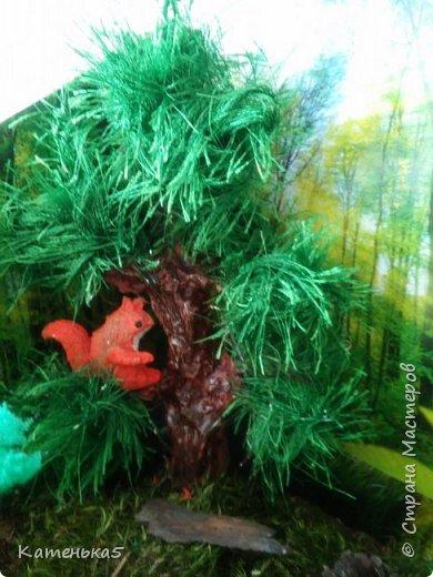 Макет леса и его жителей для детского сада фото 6