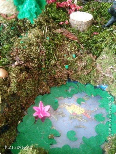Макет леса и его жителей для детского сада фото 7
