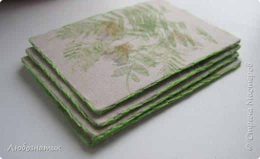 """Всем большущий привет! Представляю вам очередную серию АТС карточек """"Зелёные силуэты"""".  Техника оттиск (отпечаток) растений на ткани. Идею я  увидела в интеренете  Можете выбирать понравившуюся карточку, но хочу предупредить, тем кому я должна АТС карточки будет отдаваться приоритет.  фото 18"""