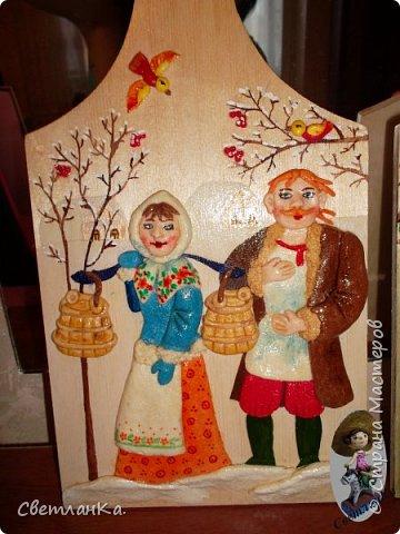 В подарок декорировала кухонные доски. фото 1