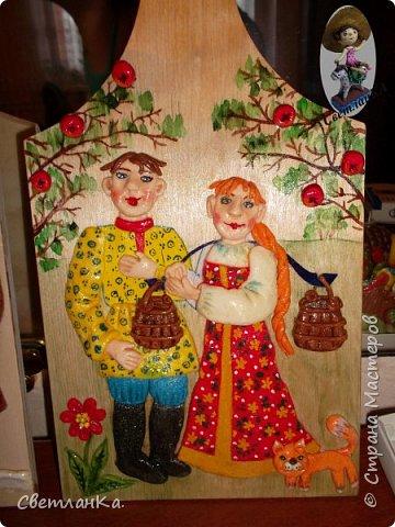 В подарок декорировала кухонные доски. фото 2