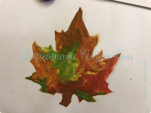 Осенние листья пластилином фото 5