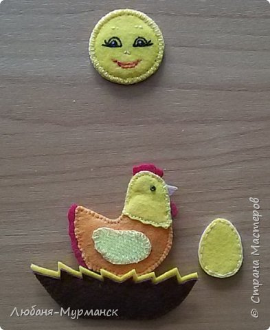 Зимой у меня появилась долгожданная внученька и вот я заинтересовалась изготовлением развивающих игрушек/книжек из фетра. фото 11