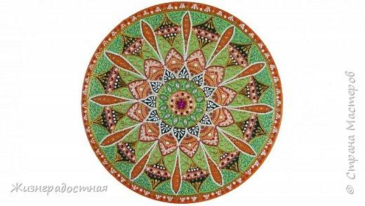 Точечная роспись декоративных тарелок. МК. Видео. фото 1