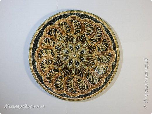 Точечная роспись декоративных тарелок. МК. Видео. фото 6