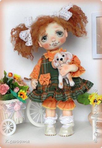 Куколки -мои рыжики фото 5