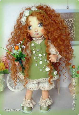 Куколки -мои рыжики фото 13