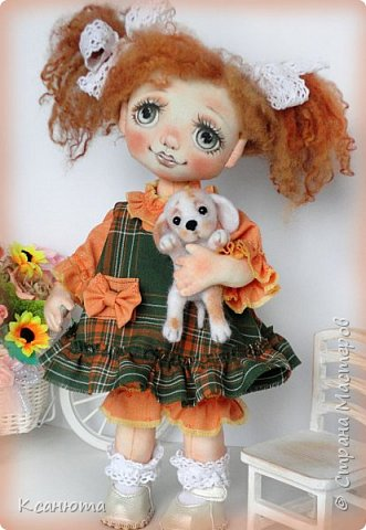 Куколки -мои рыжики фото 6