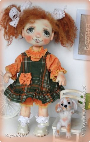 Куколки -мои рыжики фото 8