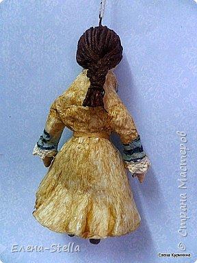 """Здравствуйте мои дорогие мастера и мастерицы СМ.  В последнее время я увлеклась историей куклы и у меня появилось новое направление.  В детстве любила рисовать дам в пышных платьях.  Представляю вашему вниманию две работы, они из разных эпох, но очень подружились. Девочка - В стиле """"Королева Анна"""" - 14 см Мальчик из Петровской эпохи - 14 см фото 5"""