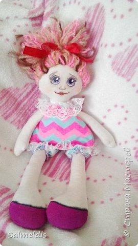 Всем здравствуйте. Таких куколок шила в подарок дорогому человеку, подруге, с которой очень редко видимся. фото 3