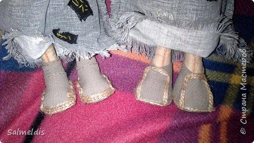 Всем здравствуйте. Очень давно хотела сделать Бабу Ягу. Когда началась работа, то вышло две, зато вот такие красотульки получились. фото 6